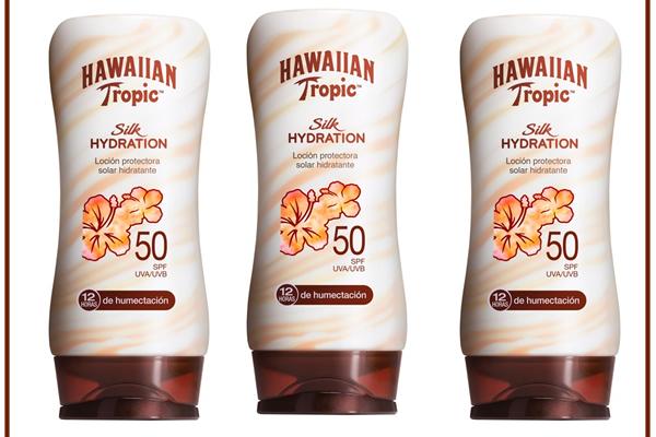 SILK HYDRATION DE HAWAIIAN TROPIC, HIDRATA Y PROTEGE TU PIEL1