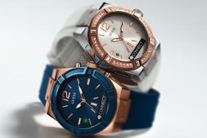 606f8b290 ... y elegante smartwatch con una caráctula de 41 mm disponible en color  café, negro, azul y blanco a partir de octubre en tiendas Guess y Liverpool.