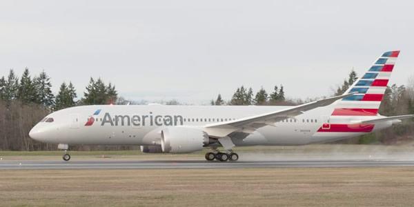 AMERICAN AIRLINES ESTRENA BOEING 787 DREAMLINER2
