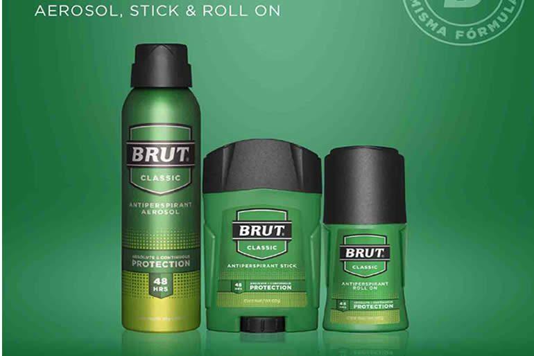 la marca BRUT actualmente se vende en todo el mundo,