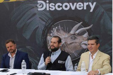 Discovery Tour Jurásico los visitantes emprenderán una aventura