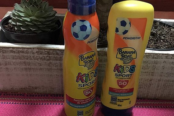 Kids Sport, protege contra los rayos UVA y UVB