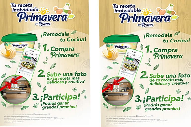 margarina ideal para la elaboración de tu receta.