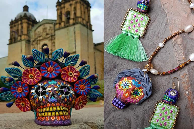 Estos diseños de Ileana Rojas, son concebidos en el taller de joyería de Oro de Monte Albán,