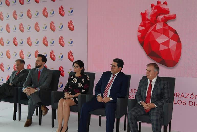 "Sanofi México, resaltó que ""las cardiopatías son la principal causa de muerte"
