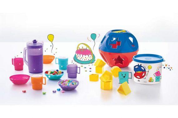 Tupperware, un juguete aliado de tantos y tantos pequeños en crecimiento, cumple 50 años