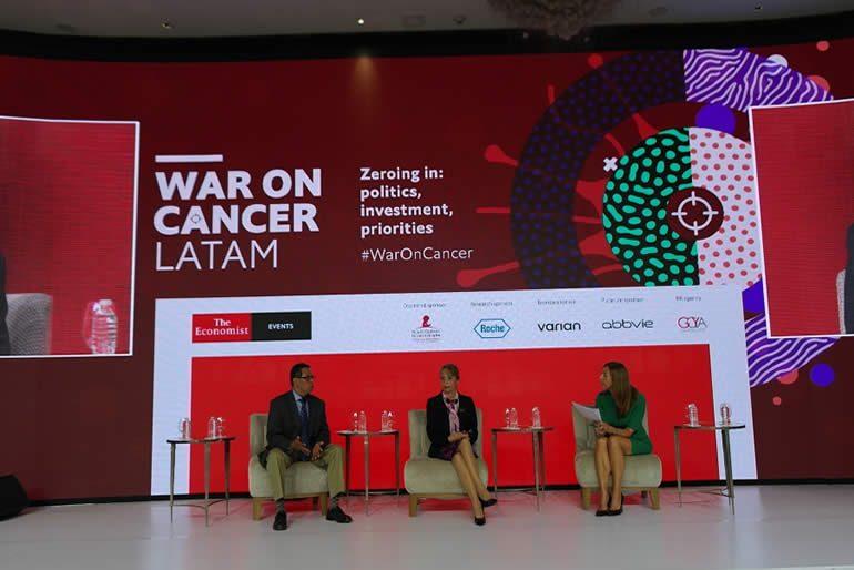 """salud universal"""", """"Optimizando el cuidado del cáncer en Latinoamérica"""""""