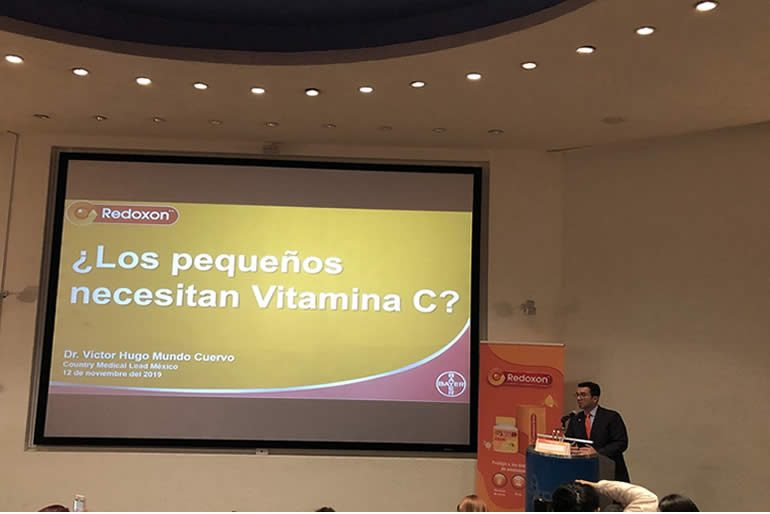 La vitamina C es necesaria para el crecimiento y desarrollo sano.
