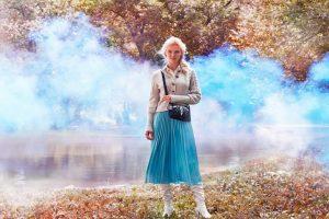 . La colección se caracteriza por tener estampados místicos y a los personajes amados de la película Anna, Elsa, Olaf, Sven en materiales texturizados