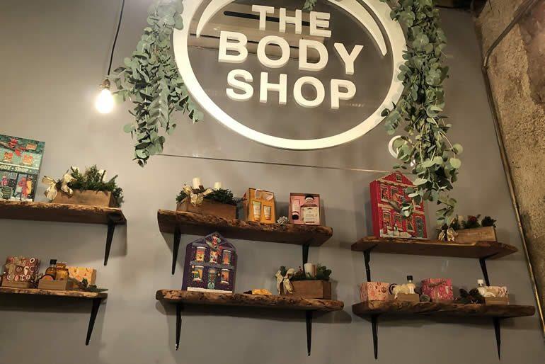 tratamientos con The Body Shop