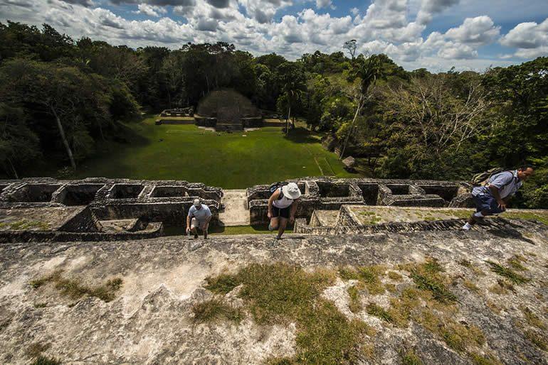 Belize, es uno de los sitios arqueológicos más antiguos de la cultura maya