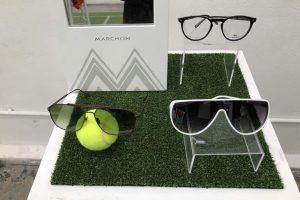 colección de gafas de sol sofisticadas y monturas ópticas