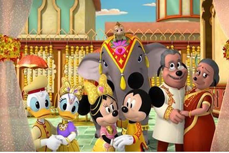 Aventuras donde Mickey y sus amigos recorrerán distintos rincones