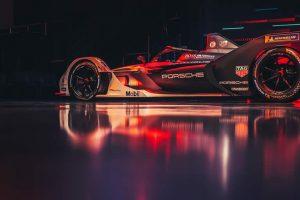 Los pilotos del equipo TAG Heuer Porsche Fórmula E, Andre Lotterer y Neel Jani