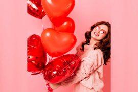 El globo es uno de los artículos que más se obsequian en el Día del Amor y la Amistad,