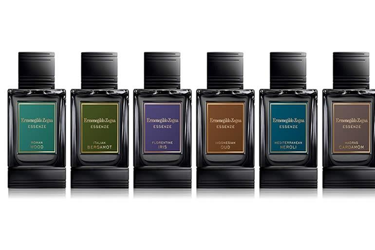 las botellas de Zegna Essenze Eau de Parfum se expresan el poder